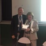 Nice, 2015, IPTA Congress , Io e Juanita Anders